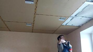 звукоизоляции потолка в квартире