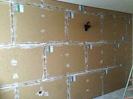 шумоизоляция стенки в квартире
