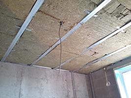 потолок и звукоизоляция