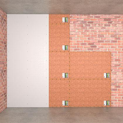 Тонкая технология звукоизоляция стены эконом