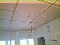 звукоизоляция натяжного потолка в квартире