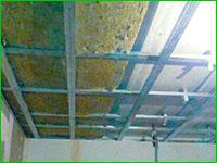Звукоизоляция потолока