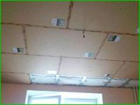 звукоизоляция потолка под гипрок